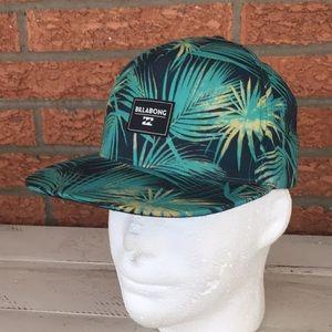 Billabong Floral Snap Back Hat